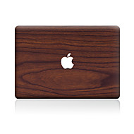 Χαμηλού Κόστους Αυτοκόλλητα για Mac-1 τμχ Αυτοκόλλητο Καλύμματος για Προστασία από Γρατζουνιές Νερά ξύλου Μοτίβο PVC MacBook Pro 15'' with Retina MacBook Pro 15 '' MacBook