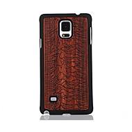 Для С узором Кейс для Задняя крышка Кейс для Пейзаж Твердый Дерево для Samsung Note 4
