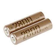 fb aa nikkel metalhydrid genopladeligt batteri 1.2V 2800mAh 2 stk