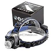 お買い得  -2000 lm lm ヘッドランプ LED 3 モード - U'King ズーム可能 / 焦点調整可 / 小型