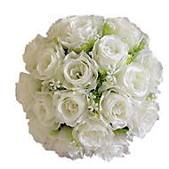 preiswerte Schreibwaren-Künstliche Blumen 1 Ast Hochzeitsblumen Rosen Tisch-Blumen
