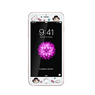 iPhone 6 / 6s 4.7inch karkaistu lasi läpinäkyvä edessä näytön suojakalvon kanssa emboss piirretty kuvio loistaa pimeässä pikkutyttö