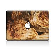 1 szt. Odporne na zadrapania Tekstura drewna Przezroczysty plastik Naklejka na obudowę Wzorki NaMacBook Pro 15'' with Retina MacBook Pro