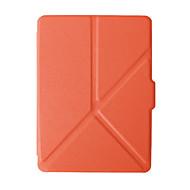 お買い得  タブレット用アクセサリー-ケース 用途 Amazon フルボディーケース / タブレットケース ソリッド ハード PUレザー のために