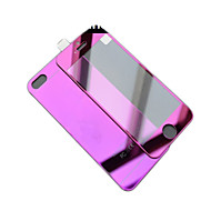 Недорогие Модные популярные товары-Защитная плёнка для экрана для Apple iPhone 6s / iPhone 6 Закаленное стекло 1 ед. Защитная пленка для экрана и задней панели Зеркальная поверхность / Взрывозащищенный