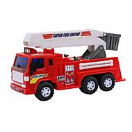 お買い得  -Lili プルバック式乗り物おもちゃ 建設車両 消防車 おもちゃ ギフト