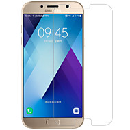 お買い得  Galalxy A 保護シート-スクリーンプロテクター Samsung Galaxy のために A5(2017) 強化ガラス 1枚 スクリーンプロテクター 防爆 硬度9H ハイディフィニション(HD)