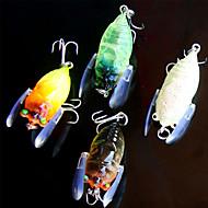 お買い得  釣り用アクセサリー-5 pcs 個 ルアー ミノウ プラスチック 一般的な釣り