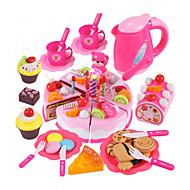 お買い得  おもちゃ & ホビーアクセサリー-玩具キッチンセット 食べ物おもちゃ ちびっ子変装お遊び ケーキ ケーキ&クッキーカッター PVC 子供用 男の子 女の子 おもちゃ ギフト