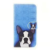 Для Кошелек Бумажник для карт со стендом Флип Кейс для Чехол Кейс для С собакой Твердый Искусственная кожа для AppleiPhone 7 Plus iPhone