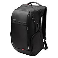 abordables Accesorios para Tablet y PC-Kingsons portátil de 15,6 pulgadas mochila mochila portátil impermeable para hombres mujeres USB externo del bolso antirrobo ordenador de