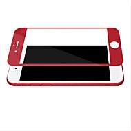 Недорогие Защитные плёнки для экрана iPhone-Защитная плёнка для экрана для Apple iPhone 7 Закаленное стекло 1 ед. Защитная пленка на всё устройство HD / Уровень защиты 9H / 2.5D закругленные углы