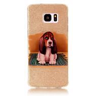 Для IMD С узором Кейс для Задняя крышка Кейс для С собакой Мягкий TPU для Samsung S7 edge S7