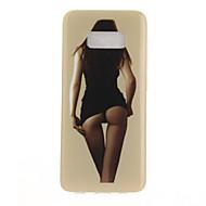Для IMD С узором Кейс для Задняя крышка Кейс для Соблазнительная девушка Мягкий TPU для Samsung S8 S8 Plus S7 edge S7 S6 edge S6