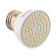 ywxlight® e27 72led 7w 2835smd 500-700lm теплый белый белый белый естественный белый светодиодный прожектор (ac 110v / ac 220v)