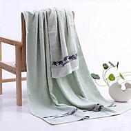 Banyo HavlusuTek Renk Yüksek kalite %100 Bambu Fiber Havlu