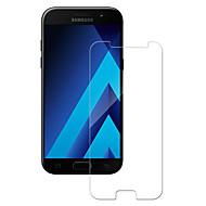 Недорогие Чехлы и кейсы для Galaxy A-Защитная плёнка для экрана Samsung Galaxy для A5 (2017) Закаленное стекло 1 ед. Защитная пленка для экрана 2.5D закругленные углы Уровень
