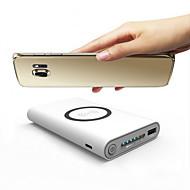 tanie Uniwersalne akcesoria do telefonów-power bank external battery 5v #a ładowarka wielokrotnego wyjścia qc 2.0 qc 3.0 etui na baterie do urządzeń Samsung Bezprzewodowa ładowarka