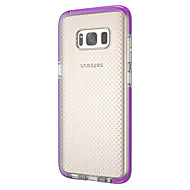 Недорогие Чехлы и кейсы для Galaxy S8 Plus-Кейс для Назначение SSamsung Galaxy S8 Plus S8 Ультратонкий Полупрозрачный Кейс на заднюю панель Сплошной цвет Мягкий ТПУ для S8 Plus S8
