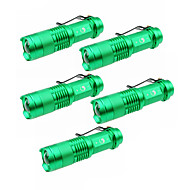 U'King LED손전등 LED 1500 lm 3 모드 Cree XP-E R2 줌이 가능한 조절가능한 초점 캠핑/등산/동굴탐험 일상용 야외