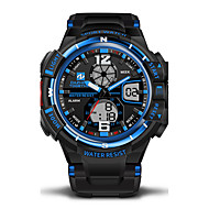 cheap Kids' Watches-Men's Sport Watch Military Watch Wrist Watch Black / Green 30 m Water Resistant / Water Proof Alarm Calendar / date / day Analog-Digital Camouflage - Red Blue Black / White Two Years Battery Life