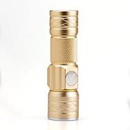 halpa Taskulamput-U'King LED taskulamput LED 1500 lm 3 Tila Cree XP-E R2 Zoomable Säädettävä fokus Ladattava Kompakti koko Pienikokoiset