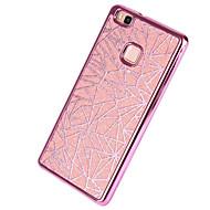 billige Mobilcovers-For Belægning Etui Bagcover Etui Glitterskin Blødt TPU for Huawei Huawei P9 Huawei P9 Lite Huawei P8 Huawei P8 Lite Huawei Y5 II / Honor 5