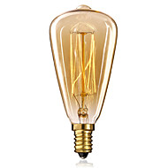 voordelige Gloeilampen-1pc 25W 40W E14 ST48 Warm wit 2300 K Gloeilamp Vintage Edison Gloeilamp AC 220-240V V