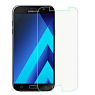 Screen Protector for Samsung Galaxy A7(2017) Tempered Glass 1 pc Front Screen Protector High Definition (HD) / 9H Hardness