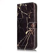 Недорогие Чехлы и кейсы для Galaxy S-Кейс для Назначение SSamsung Galaxy S8 Plus / S8 Кошелек / Бумажник для карт / со стендом Чехол Мрамор Твердый Кожа PU для S8 Plus / S8 / S7 edge