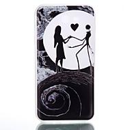 Недорогие Чехлы и кейсы для Galaxy Core Prime-Кейс для Назначение SSamsung Galaxy J7 (2016) J5 (2016) Сияние в темноте Матовое Полупрозрачный С узором Кейс на заднюю панель С сердцем