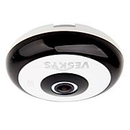 お買い得  -veskys®360度HDフルIPネットワークセキュリティwifiカメラ1.3mp魚眼レンズ