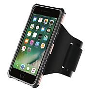 Назначение iPhone 8 iPhone 8 Plus Чехлы панели Нарукавная повязка С ремешком на руку Кейс для Сплошной цвет Твердый PC для Apple iPhone 8