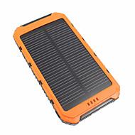 Недорогие Портативные аккумуляторы-10000mAhPower Bank Внешняя батарея Несколько разъемов Защита от влаги 10000 1000/2100 Несколько разъемов Защита от влаги