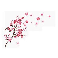 povoljno -Pejzaž Romantika Cvjetnih Zid Naljepnice Zidne naljepnice 3D zidne naljepnice Dekorativne zidne naljepnice Naljepnice za vjenčanje, Papir