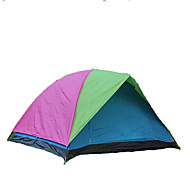 GAZELLE OUTDOORS 3-4人 テント ダブル キャンプテント 1つのルーム 折り畳みテント 防湿 防水 防風 抗紫外線 折り畳み式 通気性 のために ハイキング キャンピング 屋外 ファイバーグラス オックスフォード cm