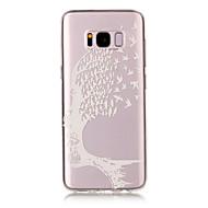 Кейс для Назначение SSamsung Galaxy S8 Plus S8 IMD Прозрачный Рельефный С узором Задняя крышка Черепа Мягкий TPU для S8 S8 Plus S7 edge