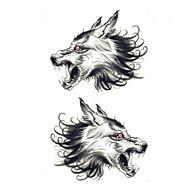 cheap Temporary Tattoos-1 pcs Tattoo Stickers Temporary Tattoos Animal Series Waterproof / Non Toxic Body Arts Arm