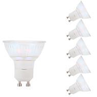 お買い得  LED スポットライト-GMY® 6本 5.5W 450lm GU10 LEDスポットライト MR16 1 LEDビーズ COB クールホワイト 100-240V