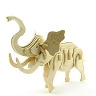 Χαμηλού Κόστους Παιχνίδια και Χόμπι-Παζλ 3D Παζλ Μοντέλο ξύλου Παιχνίδια Ελέφαντας 3D Ζώα Φτιάξτο Μόνος Σου Ξύλο Γιούνισεξ Κομμάτια