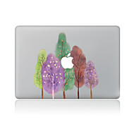 1 db Karcolásvédő Olajfestmény Átlátszó szintetikus Matrica Minta MertMacBook Pro 15'' with Retina MacBook Pro 15 '' MacBook Pro 13''
