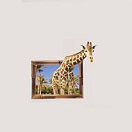 povoljno -Pejzaž Cvjetnih Botanički Zid Naljepnice Zidne naljepnice 3D zidne naljepnice Dekorativne zidne naljepnice Foto naljepnice, Papir Vinil