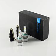 C6 9005 led фара для автомобиля с 2side чипами мощностью 36 Вт