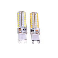 Χαμηλού Κόστους LED Φώτα με 2 pin-3W G9 LED Φώτα με 2 pin T 64 LEDs SMD 2835 Διακοσμητικό Θερμό Λευκό Άσπρο 550-650lm 3000-3500 6000-6500K AC 220-240 AC 110-130V