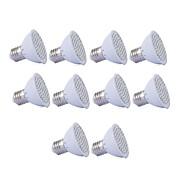 1.5W GU10 GU5.3 E27 LED Büyüyen Işıklar MR16 36 led SMD 2835 Kırmızı Mavi 250lm 2700-3500K AC110 AC220V