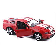 voordelige -Speelgoedauto's Racewagen Speeltjes Terugtrekvoertuigen Muziek en licht Metaal Stuks Unisex Geschenk