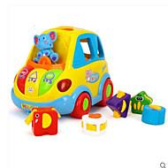 voordelige Speelgoed & Hobby's-HUILE Speelgoedauto's Speeltjes Educatief speelgoed Speeltjes Smart Electrisch intelligent Cirkelvormig Bus Stuks Geschenk