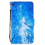 Недорогие Чехлы и кейсы для Huawei Honor-Кейс для Назначение Huawei Honor 7 / Huawei P9 Lite / Huawei Y560 Кошелек / Бумажник для карт / со стендом Чехол дерево Твердый Кожа PU для Huawei P9 Lite / P8 Lite (2017) / Honor 8