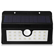 BRELONG Solar PIR Light - 20 x SMD 2835 5W 500Lm Cordless Waterproof Human Body Induction