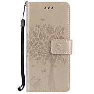 For Samsung Galaxy S8 plus S8  Card Holder Wallet with Stand Flip Embossed Case Full Body Case Tree Hard PU Leather for S7 edge s7 S6 S5 mini S4 S3